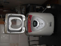hardly used morphy richards bread maker