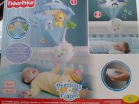 """Baby Mobile (& Projector) by Fisher Price """"Precious Planet"""""""