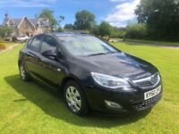 2010 VAUXHALL ASTRA 1.7CDTI BLACK MANUAL ** LOVELY CAR** FINANCE AVAILABLE** 3 MONTHS WARRANTY**