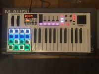 M-Audio Code 25 usb midi controller