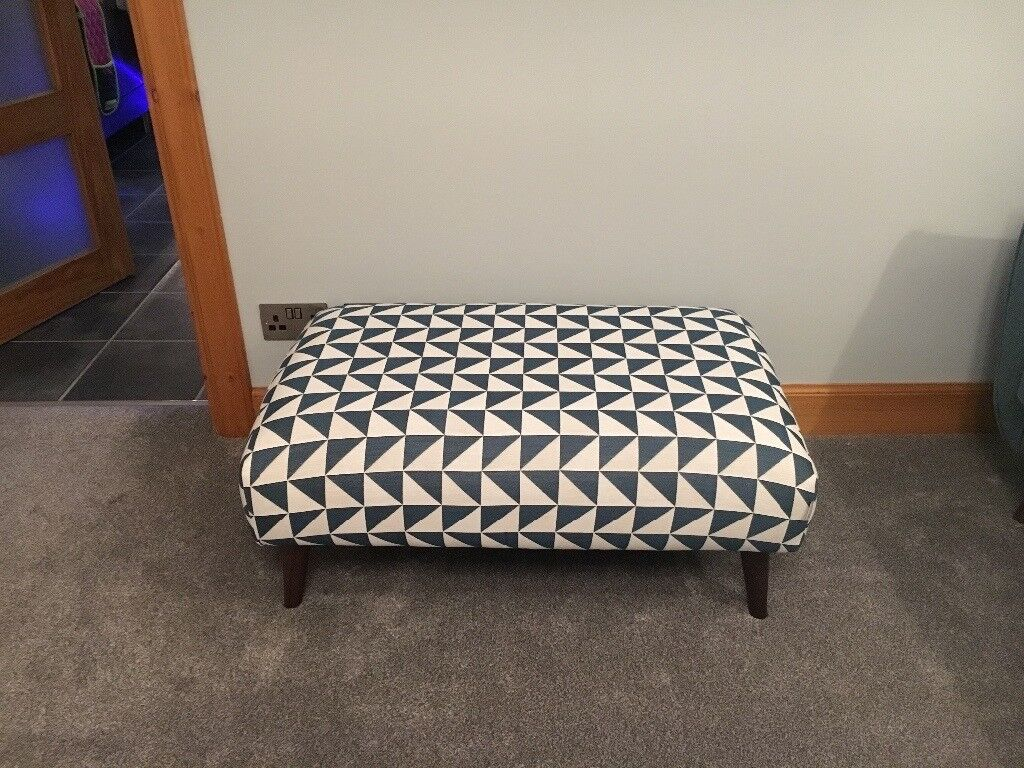 FRENCH CONNECTION FOOT STOOL