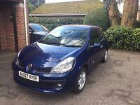 2007 Blue Renault Clio 1.4 - Manual - 10 Months MOT - Recent Cambelt - 75k miles - Cheap first car