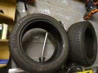 2x New Winter tyres 225/50R17 Winguard, full tread remaining. Collection best