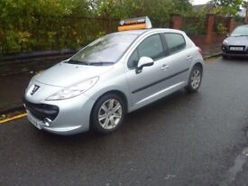 PEUGEOT 207 SPORT 1.6 HDI DIESEL MOTD MARCH 2018 VERY GOOD CONDITION