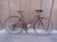 Lightweight 8 Speed 700c Mixte Bike Size M