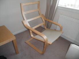 Ikea Poang chair frame.