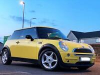 Mini One Hatch 1.6 Yellow! 90k Miles! MOT APRIL 2022! Clean Car.