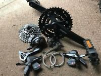 Complete Shimano Groupset, Like Brand New, Everything Included! will sell seperate