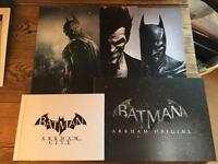 Batman art of books and artwork