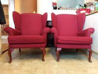 2 Queen Anne Chairs