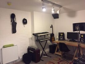 Recording/Music/Multimedia studio 6 month lease - Manor House/Finsbury Park