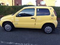 Yellow 1.3 Suzuki ignis long mot