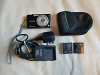 Panasonic Lumix DMC-FS9 digital camera leica zoom lens easy to use spare batteries