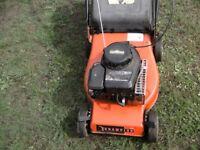 Champion 41cm mower all works ok lawnmower