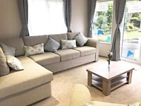 STUNNING STATIC CARAVAN FOR SALE TURNBERRY AYR SCOTLAND NO AGE LIMIT SEA VIEWS NOT GLASGOW TROON