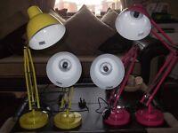 reading/desk lamps