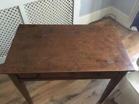 Beautiful antique dressing table and chair
