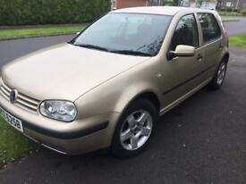 ##### 2002 MK4 VW Golf TDI, SE, Mot Until April 2018 #####