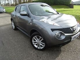 DIESEL !!! 2012 62 NISSAN JUKE 1.5 TEKNA DCI 5d 110 BHP **** GUARANTEED FINANCE **** PART EX WELCOME