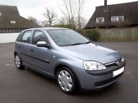 2003 Vauxhall Corsa 1.0 Elegance 5 Door Full MOT Cheap Ideal First Car Saxo Clio 106 206 Polo Punto