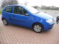 (2005)FIAT PUNTO 3 DOOR HATCHBACK ,1.2.CC,WITH SERVICE HISTORY........