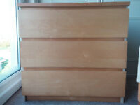 Chest of 3 drawers (Maple)