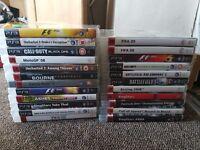 Bundle of 23 PS3 Games