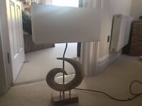 Trendy bed side table lamp!