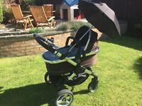 iCandy Pushchair & Carrycot for sale, with matching accessories - immaculate condition