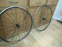 Bontrager TLR wheel set 11 speed