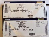 Orbital - Hammersmith Apollo, Saturday 2nd December, 2 tickets