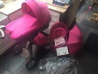 Stokke v3 in limited edition pink