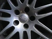 Audi S5 20 inch black alloys