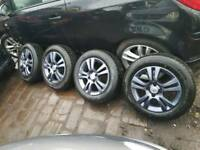 "Vauxhall Corsa D 15"" Alloys with brand new tyres"