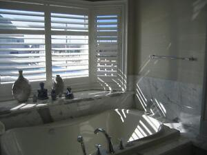 VINYL SHUTTERS! WOOD SHUTTERS! *REINFORCEMENT VINYL PAINTED SHUTTERS!* BEST PRICE, QUALITY AND SERVICE! WINDOWS COVERING