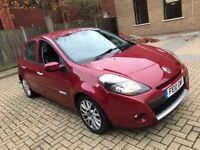 2010 RENAULT CLIO 1.2 16V DYNAMIQUE TOMTOM 5 DOOR HATCHBACK PETROL MANUAL RED NO CORSA MEGANE FIESTA