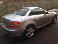 MERCEDES SLk 350 AMG CONVERTIBLE LOW MILAEGE SAT NAV BIG SPEC BARGAIN