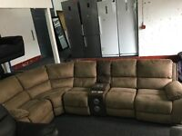 Ex Display LazyBoy Recliner Corner + Apple Docking Station + CupHolders (left or right side)