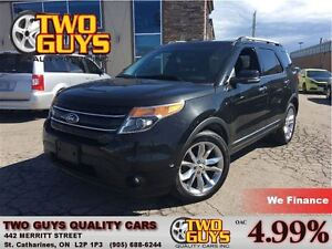2013 Ford Explorer Limited 4WD LEATHER NAV MOONROOF