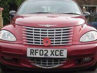 Red PT Cruiser 2.2CRD 2002