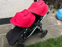 Baby Jogger City select pushchair with Double seat
