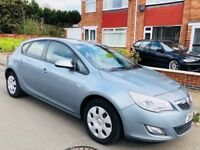 Vauxhall Astra 1.6 i VVT 16v Exclusiv 5dr£2,599 low mileage 2011 (11 reg), Hatchback