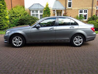 MERCEDES-BENZ C CLASS 2.1 C220 CDI BLUEEFFICIENCY EXECUTIVE SE 4d 168 BHP 1 PREVIOUS KEEPER, SAT NAV