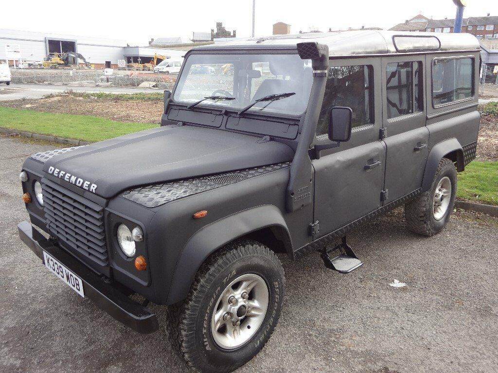 land rover defender 110 black 200 tdi in armley west. Black Bedroom Furniture Sets. Home Design Ideas