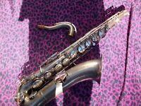 "1935 vintage ""conn"" cavalier tenor saxophone"