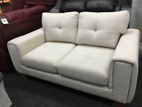 New/Ex Display Dfs Fabric 2 Seater Sofa