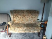 2 seater parker knoll sofa
