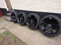 alloy wheels saab / vauxhall 18 inch 110x5 et42