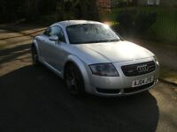 AUDI TT QAUTTRO 1.8 TURBO SILVER LEATHER ALLOYS IMACULATE.
