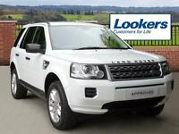 Land Rover Freelander TD4 GS (white) 2014-01-21